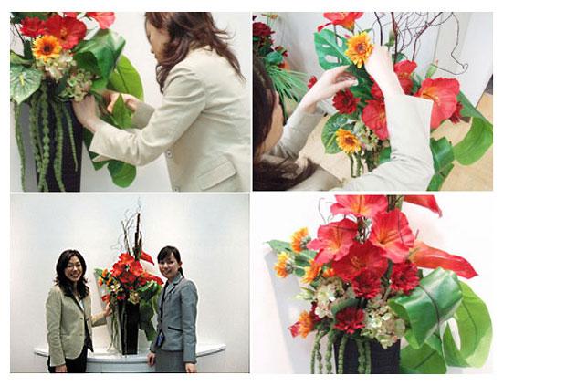 <p>フラワーデザイナー 高 智子と共同企画してデザインされたビジネスフラワーのオリジナル商品です。</p>