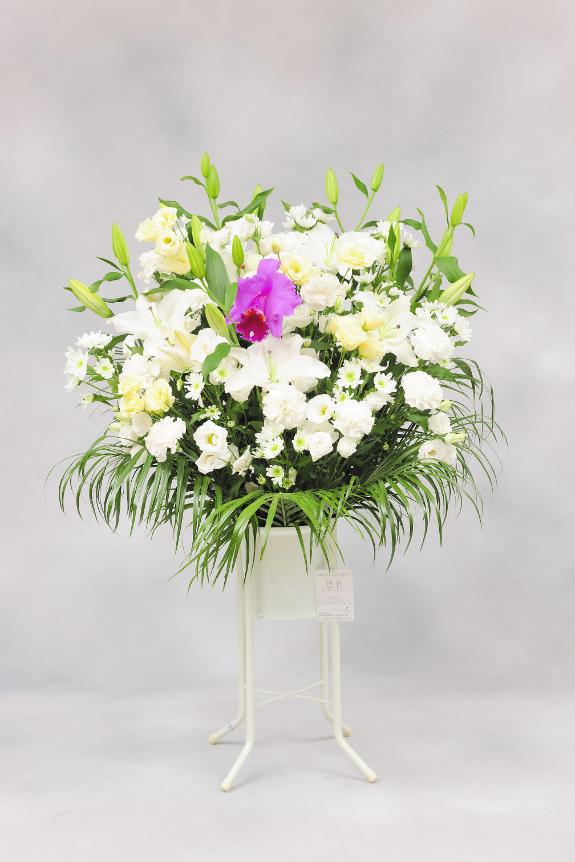 <p>供花(お供え花)は季節や現地風習、喪主様の意向によってお仕立てが異なる場合もございます。</p>
