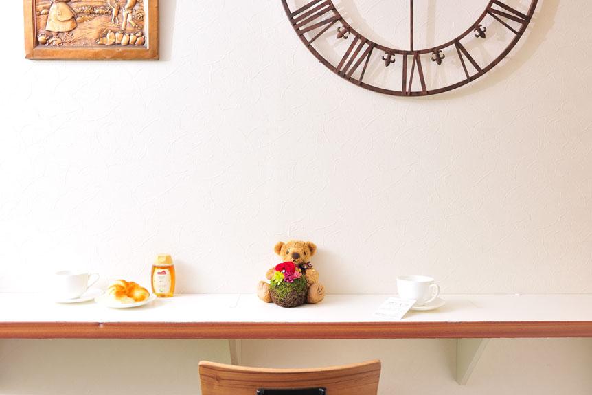 <p>可愛らしいプリザーブドフラワーはお店のインテリアとしてもオススメです。</p>