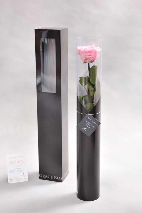 <p>スタイリッシュなデザインのケースに入ったプリザーブドフラワーLuxury Rose(ベイビーピンク)は用途を選ばないフラワーギフトや贈り物としてご利用いただけます。</p>