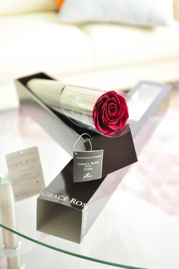 <p>プリザーブドフラワーLuxury Rose(ワイン)は各種お祝い事の簡単なフラワーギフトや贈り物にオススメです。</p>