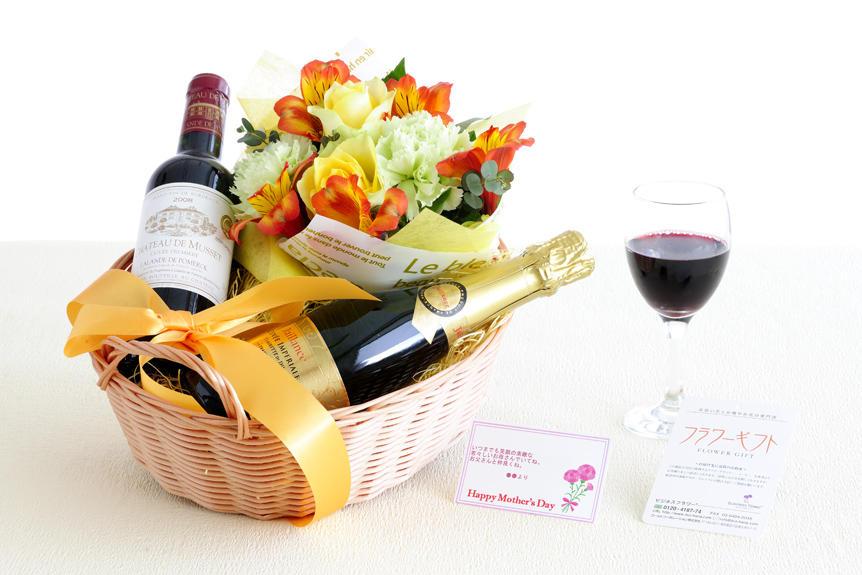 <p>オリジナル文言のメッセージカード対応が可能な、母の日、父の日の合同ギフト商品です。お酒が好きな両親への贈り物、プレゼントとしてオススメです。(商品のお届けは母の日にあわせてとなります。)</p>