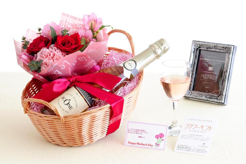 <p>オリジナル文言のメッセージカード対応が可能な、母の日のギフト商品です。お酒が好きなお母さんへの贈り物、プレゼントとしてオススメです。</p>