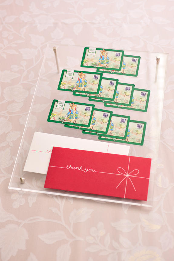 <p>商品券(図書カード10,000円分)</p>