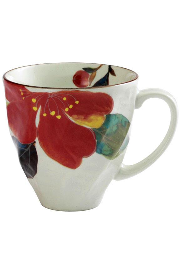 <p>花言葉は「困難に打ち克つ」「ひたむきさ」、1月を表す山茶花(さざんか)柄のコーヒーカップです。<br /> 日本製の美濃焼なので高品質で安心な一品です。</p>