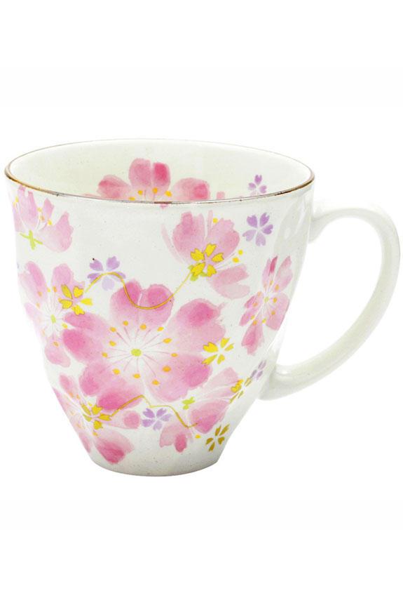 <p>花言葉は「精神美」「純潔」、3月を表す桜柄のコーヒーカップです。<br /> 日本製の美濃焼なので高品質で安心な一品です。</p>