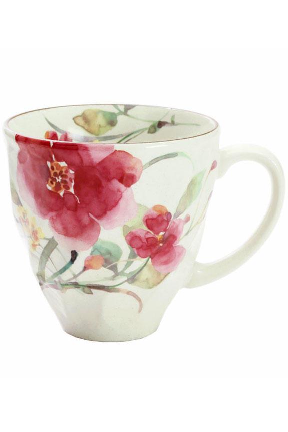 <p>花言葉は「忍耐」「淡い思い」、11月を表すシュウメイ菊柄のコーヒーカップです。<br /> 日本製の美濃焼なので高品質で安心な一品です。<br /> </p>